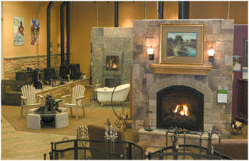 Becker Furniture World - DJ's Fireplaces MN Fireplace Store - Twin ...